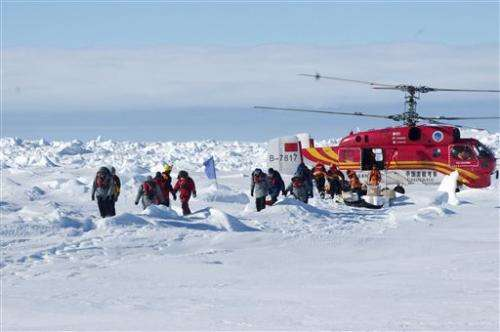 Ship involved in Antarctic rescue faces trouble