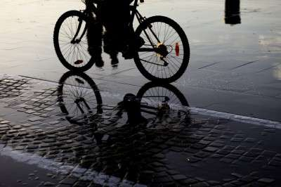 Showers and change rooms tempt cyclists out in the cold