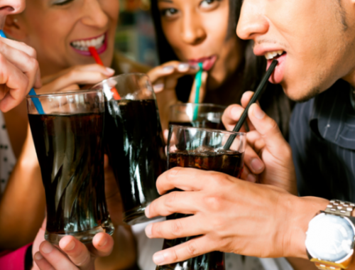 Sipping a soft drink is much more harmful for your teeth than gulping it