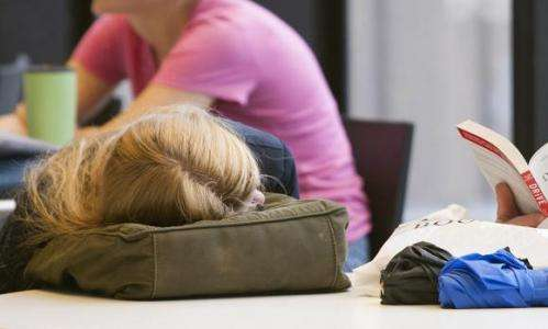 Sleep starts later as teens age, but school still starts early