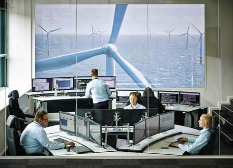 Smart data increases the efficiency of wind farms