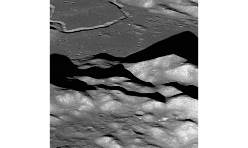 Soaring over Lunar Mt. Hadley