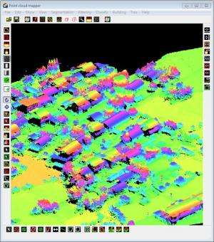Software capable of quickly producing 3D building models