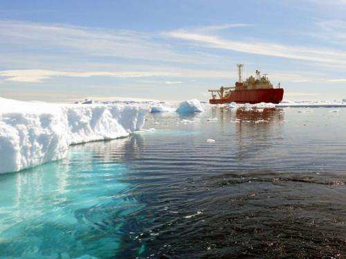 Southern Ocean's role in climate regulation, ocean health is goal of $21 million project
