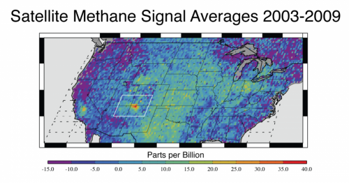 Space-based methane maps find largest US signal in Southwest