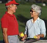 Spouse's sunny outlook may be good for your health