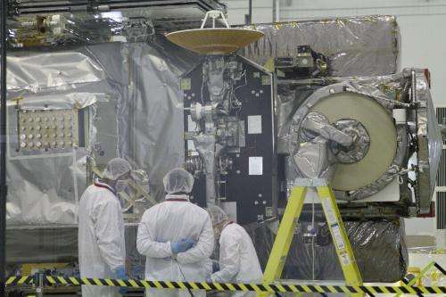 Status Update: GPM Completes Spacecraft Alignments