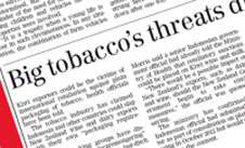 Study analyses NZ newspapers' coverage of tobacco control issues