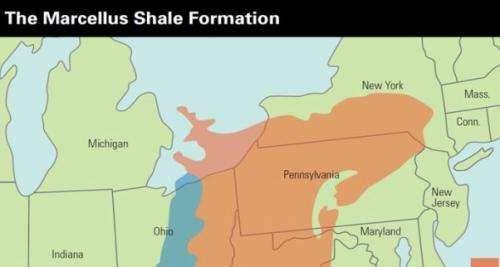 "Study to inform Maryland decision on ""fracking"""