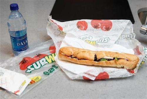 Subway: 'Yoga mat chemical' almost out of bread