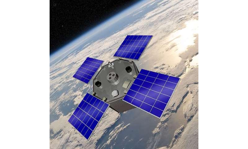 Sun sets for a NASA solar monitoring spacecraft