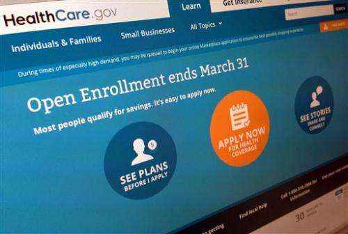 Survey: US uninsured rate drops; health law cited