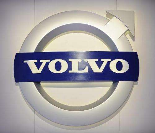 Swedish auto maker Volvo said Thursday it was developing a system to enable online shopping deliveries direct to customers' cars