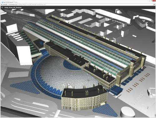 Talking in 3D: Discussing and administrating complex construction models via a web browser
