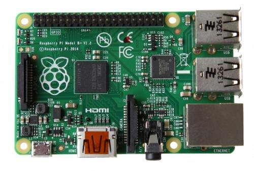 Team at Raspberry Pi advance with Model B+
