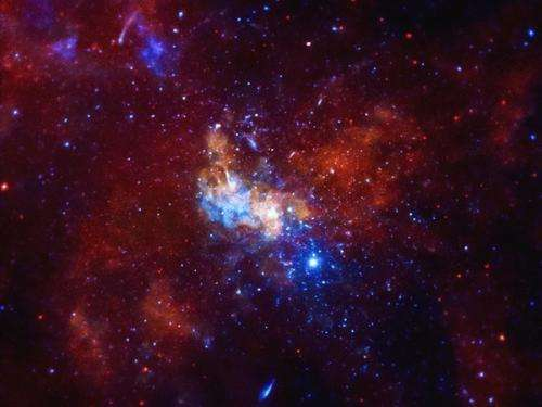 Telescopes hint at neutrino beacon at the heart of the Milky Way