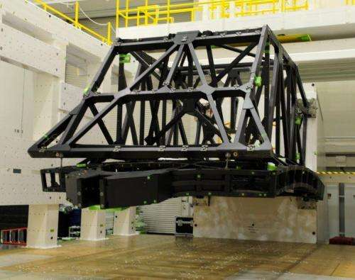 Testing completed on NASA's James Webb space telescope backplane
