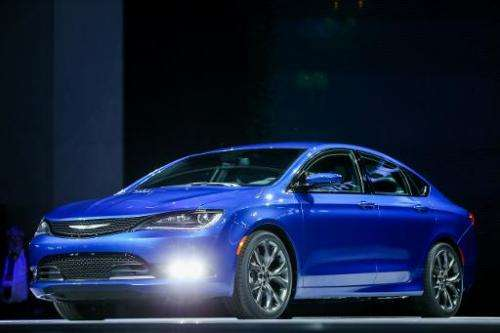 The Chrysler 200s is introduced at the 2014 North American International Auto Show in Detroit, Michigan, January 13, 2014