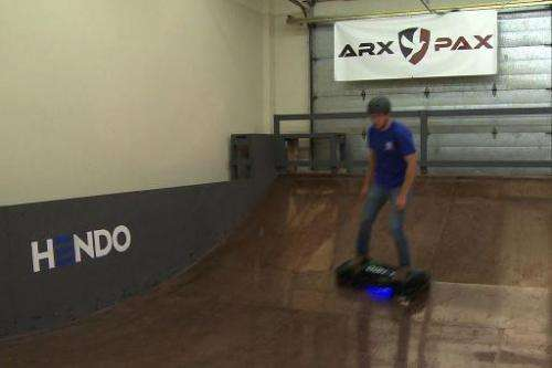 The first 10 hoverboards—costing $10,000 apiece—have sold out in advance