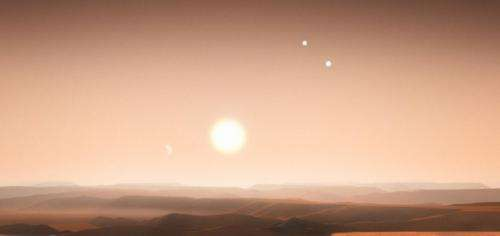 The impossible triple star KIC 2856960