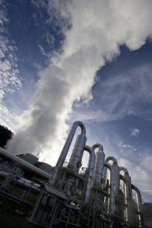 The Indonesian parliament on August 26, 2014 passed a long-awaited law to bolster the geothermal energy industry and tap the pow