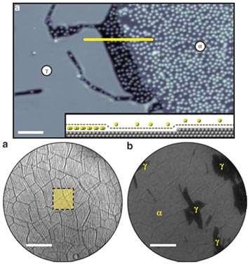 The Mechanism of Caesium Intercalation of Graphene
