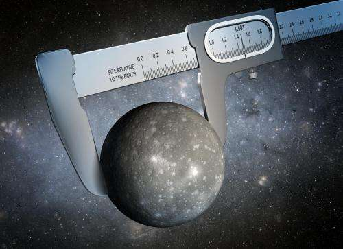 The most precise measurement of an alien world's size