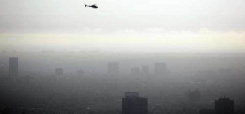 The Obama administration announces environmental regulations to curb emissions of ozone, a smog-causing polluant, responsible fo