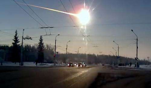 The power of the Chelyabinsk meteor