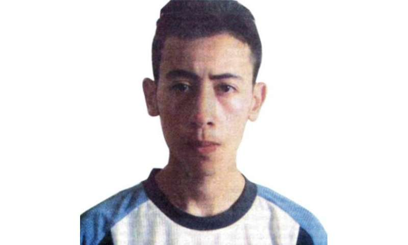 This picture published by Moroccan newspapers on September 3, 2005 shows Farid Essebar
