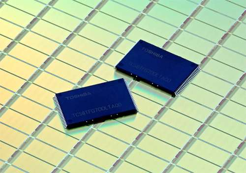 Toshiba starts mass production of world's first 15nm NAND flash memories