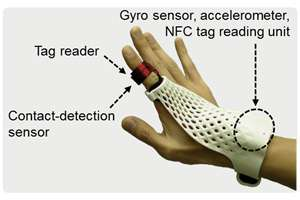 Touch- and gesture-based input to support field work