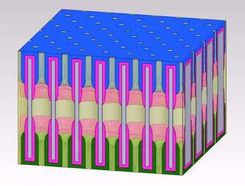 A billion holes can make a battery