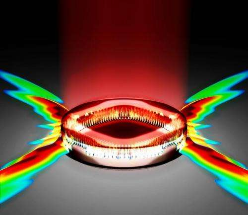 Turning loss to gain: Cutting power could dramatically boost laser output