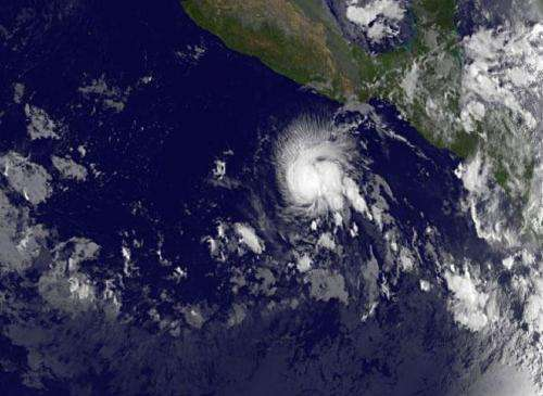 Twenty-first Eastern Pacific tropical depression born on Oct. 30