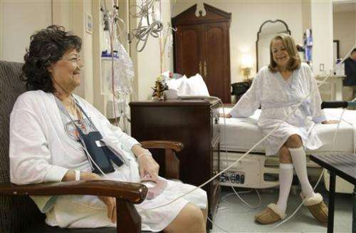 Two sisters get lung transplants from same donor