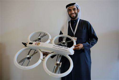 UAE developing drones for citizen services