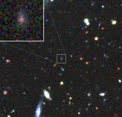Cosmic illusion revealed: Gravitational lens magnifies supernova