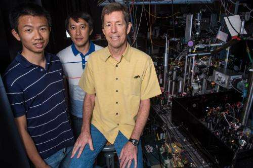 Ultracold disappearing act: 'Matter waves' move through one another but never share space