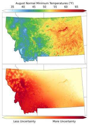 UM research improves temperature modeling across mountainous landscapes