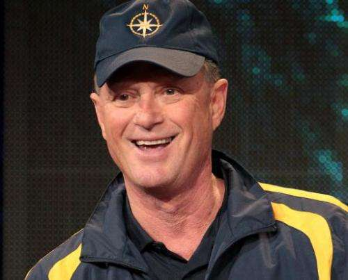 Underwater explorer, Robert Ballard speaks onstage in Pasadena, California on January 13, 2012