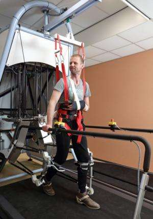 Unique walking robot moves into rehabilitation clinic
