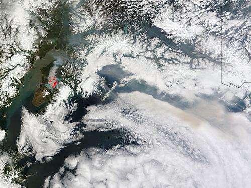 Update on Funny River Fire, southern Alaska