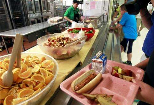 USDA allows more meat, grains in school lunches