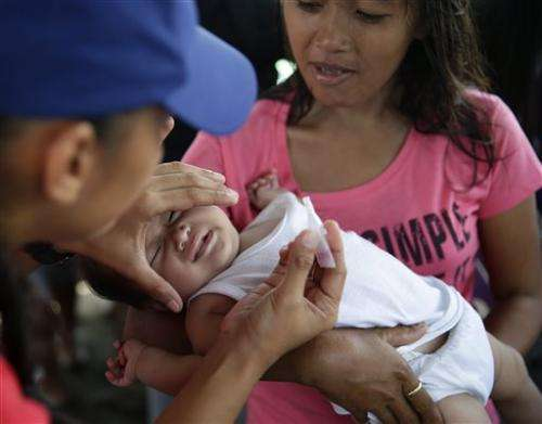 US officials: Measles tally doubled in past month