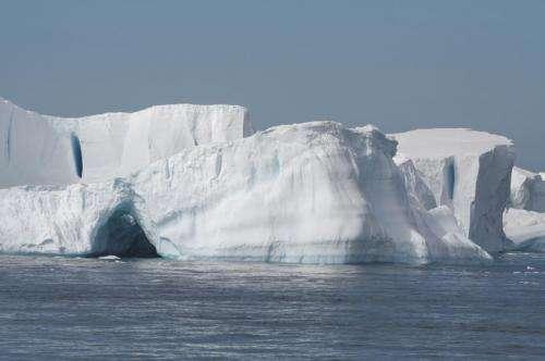 Antarctic seawater temperatures rising