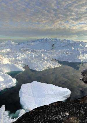 Greenland melting due equally to global warming, natural variations