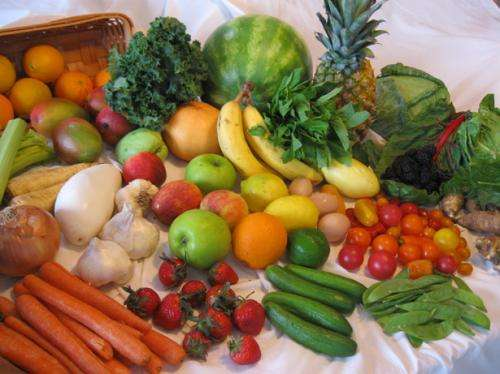 vegetables , fruits