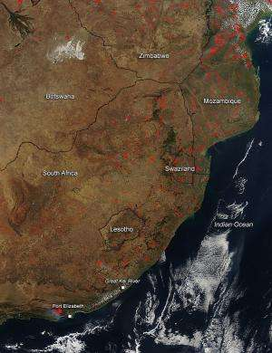Veld Fires in South Africa