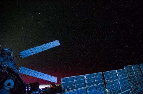 Video: Watch the Milky Way spin above the space station